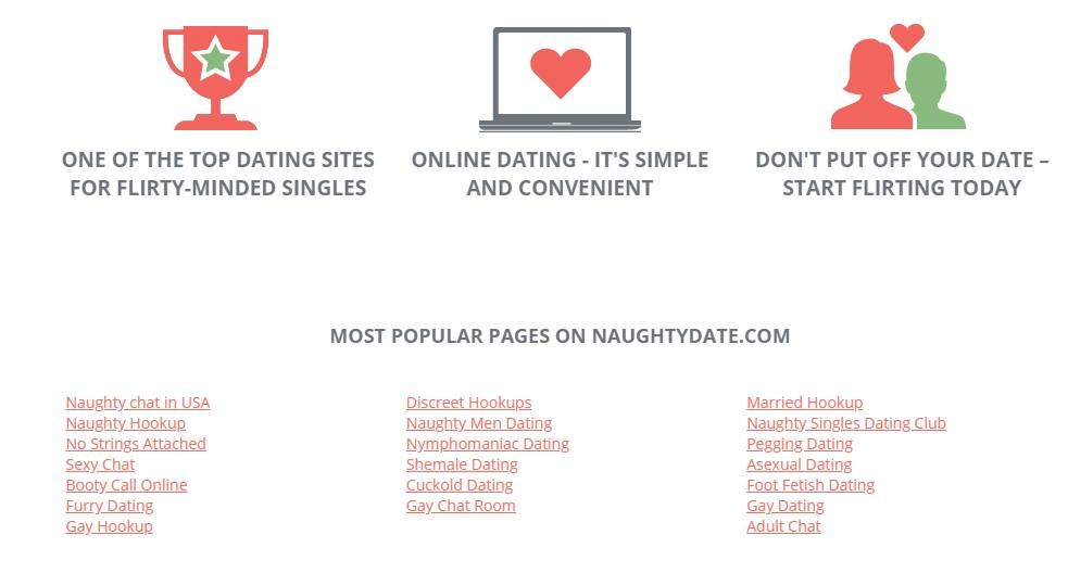 NaughtyDate site