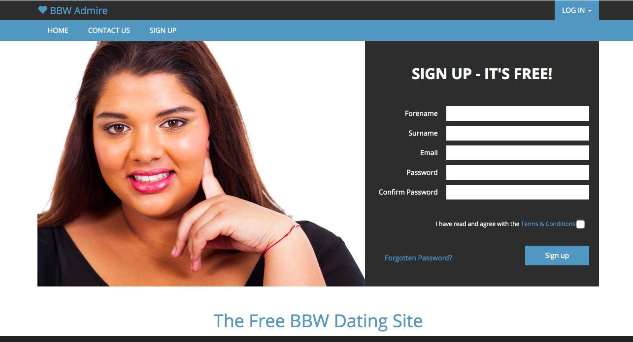 main page BBWAdmire