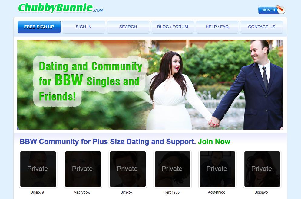 main page ChubbyBunnie