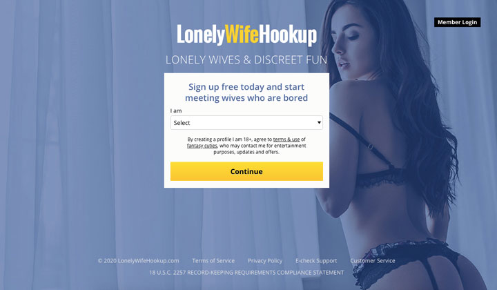 main page LonelyWifeHookup